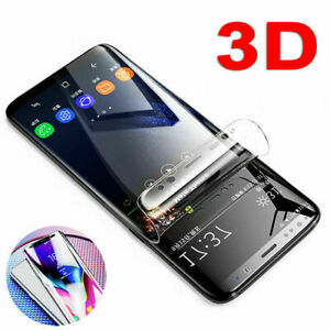 Genuine TPU Screen Protector For Samsung Galaxy S21 Ultra S8 Plus Note 20 9 S7
