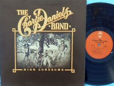 Charlie Daniels Band ORIG US LP High lonesome NM '76 Epic PE34377 Country Rock