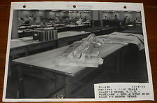 Rare Lockheed CVAC 1/10 Scale MX-1964 Model Fuselage Pod Stud Wing Photo 11-5-53