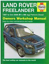 1.8 /& V6 Workshop /& Proprietario Manuale CD comprende tutto LAND ROVER FREELANDER TD4