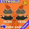 FRONT REAR Brake Pads for Kawasaki KLR 650 KL 2008-2009