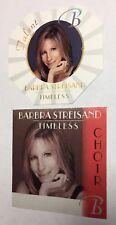 Lot of (2) Barbara Streisand Concert Backstage Passes Choir Talent Perri