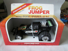 "1987 Tootsietoy Frog Jumper 6"" Diecast Black #8 Racing Team F1 Race Car 3055 NIB"