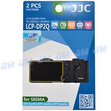 JJC 2PCS LCD Screen Display Protector Film for Sigma DP0 DP1 DP2 DP3 Quattro