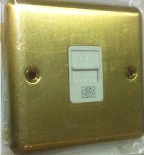 Mk Teléfono entrada individual Secundaria aprobado por BT 439sab Satén ANTIGUO