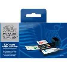 Winsor & Newton Cotman Watercolors Field Box Set - 12 half pans