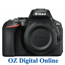 New Nikon D5600 Body WiFi NFC Bluethooth FullHD 24.2MP Camera Black 1YrWty