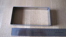 Stainless Steel Casting Rectangle Oblong Kiln Mold Glass Fusing ~ Large - Mould