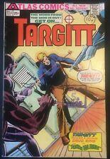 TARGITT. NO.1. KEY 1ST APP. BRONZE AGE 1975.  DICK GIORDANO-COVER. ATLAS COMICS