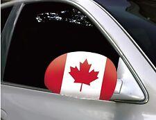 Espejo de coche de Canadá Banderas/Cubiertas (Par) Canadá 150th Cumpleaños Celebración