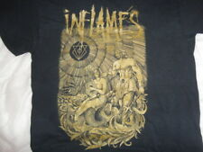 IN FLAMES Rare Large T SHIRT METAL SONIC SYNDICATE AMON AMARTH Unguided Danzig