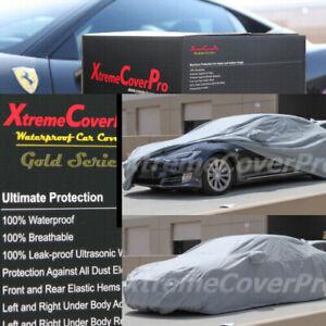 2016 2017 2018 2019 TESLA MODEL S WATERPROOF CAR COVER W/MIRROR POCKET -GREY