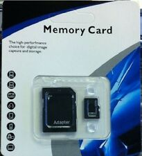 64GB microSD SDXC Flash TF Memory Card Class 10 Micro SD Free SD Adapter Retail