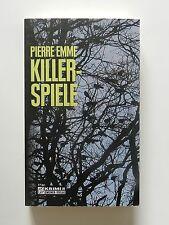 Pierre Emme Killerspiele Roman Krimi Gmeiner Verlag