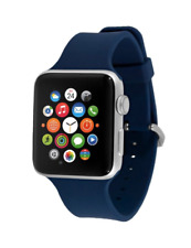 EndScene Silicone Smartwatch Band for Apple Watch 42mm - Navy Blue