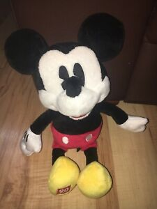 """Mickey Mouse 90 Years 10"""" Soft Plush Toy J16"""