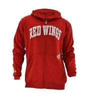 Officially licensed NHL Detroit Red Wings Full-Zip Jacket by Majestic Big & Tall