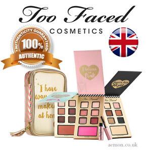 TOO FACED Best Year Ever set or single, make up palette, mascara,case ORIGINAL