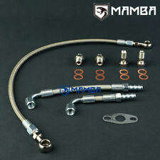 MAMBA Turbo Oil & Water line Kit For Nissan MR16DDT TD04L on TIIDA JUKE PULSAR