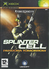 SPLINTER CELL PANDORA TOMORROW for Xbox - with box & manual