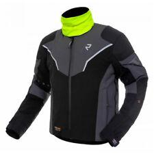 Rukka Niraj Mens Goretex Motorcycle Motorbike Jacket Black Grey Euro 46 UK 36