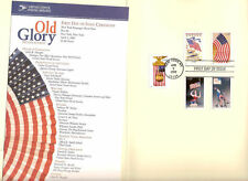 #3776-3780a First Day Ceremony Program 37c  Old Glory Stamps