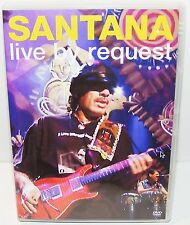 SANTANA LIVE BY REQUEST ---(Dvd)