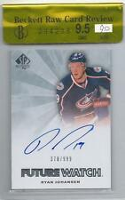 11-12 SP Authentic Ryan Johansen RC Future Watch /999 Raw Review BGS 9.5 Auto 9