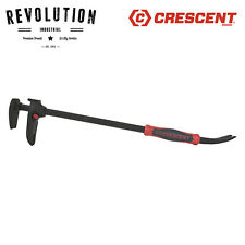 Crescent DB24 24-Inch Adjustable Pry Bar, Nail Puller, Red/Black