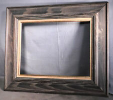 Vintage Modern Gray Driftwood Wash Chestnut Picture Frame 12x16 Abstract Paintin