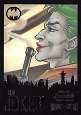 DC Comics Bombshells III RAINBOW FOIL GOTHAM'S GREATEST INSERT GG2 / THE JOKER