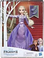 Disney Frozen Arendelle Elsa Fashion Doll with Detailed Ombre Blue Dress