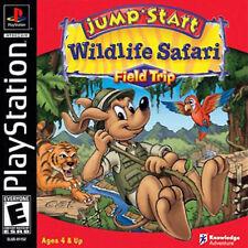 Jumpstart WildLife Safari Field Trip PS New Playstation