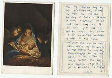 03490 - Carlo Maratta: Die Heilige Nacht - alte Ansichtskarte