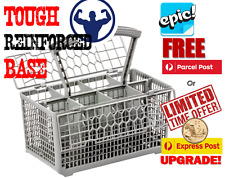 Epic full size universal dishwasher cutlery basket, 8 bays super strong base