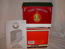 .Lionel 6-81627 Christmas Hopper Shed O 027 New exterior lights both ends