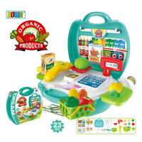 Supermarket Toys Pretend Play Set Kids Children Role Play Tools UK