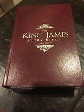 KJV Thomas Nelson Study Bible - 2013 HARDCOVER EDITION