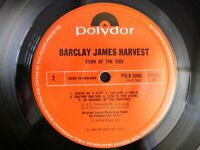 Turn of the Tide Barclay James Harvest POLD 5040 inner lyric sleeve LP record A1