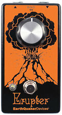 EarthQuaker Devices Erupter, ULTIMATE FUZZ TONE, NEW, Free 9V Wall Wart