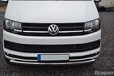 Per adattarsi 04 - 15 VW Volkswagen Transporter T5 CARAVELLE SPOILER PARAURTI ANTERIORE BARRA