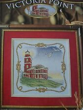 Victorian Point Lighthouse Cross Stitch PATTERN  Booklet/Leaflet