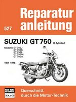 Suzuki GT 750 1971-1976 Reparaturanleitung Reparatur-Handbuch Reparaturbuch POD
