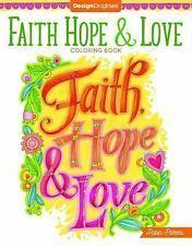 FAITH, HOPE, AND LOVE COLORING BOOK