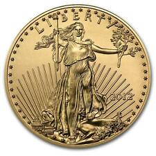 2012 1/2 oz Gold American Eagle BU #PAPPS19578 Lot 20162045