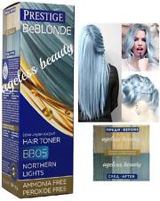 Haartönung 05 SILBER BLAUE GRAU SILVER Haarfarbe 100ml Tube Ohne Ammoniak