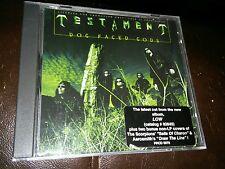Testament  Dog Faced Gods Cd Single Rare PRCD 5978