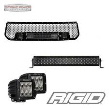 RIGID INDUSTRIES MIDNIGHT LED LIGHT BAR GRILLE FOR 14-16 TOYOTA TUNDRA BLACKOUT