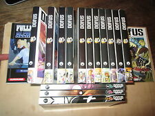 lot mangas.   dofus  15vol. du 1 au 12 + 3 dofus monster..