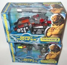 SEALED MIB BEAST WARS BEAST MACHINES RATTRAP and TANKOR LOT MISB SEALED
